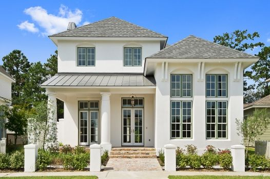 Classic porches embrace this traditional three-bedroom #home, giving you plenty of space for friendly conversation. Click here to view more photographs: http://www.thehousedesigners.com/plan/annabel-drive-9625/