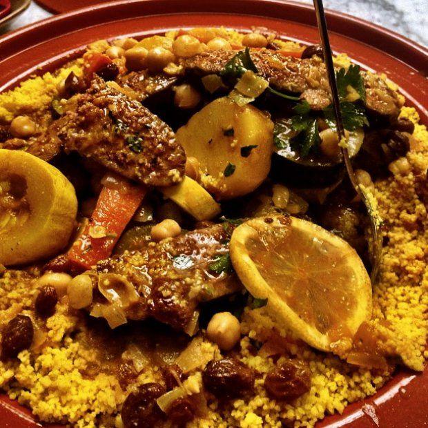 Marockansk Tagine Med Merguez Korv Och Grönsaker Recept « Marcus Samuelsson