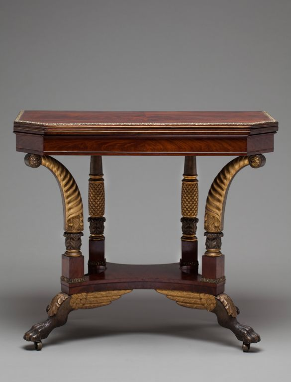 Card Table 1810 New York, New York Milwaukee Art Museum - 125 Best Antiques Images On Pinterest Antique Furniture, Vintage