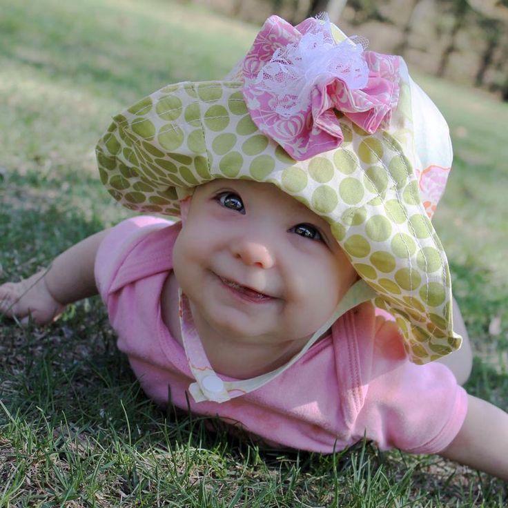 Cute Baby Sunhat Pattern