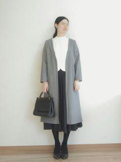 【型紙・作り方】簡単ロングコート