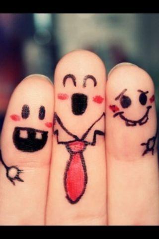 Finger people :)