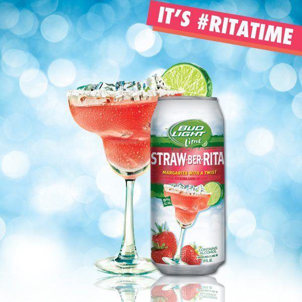 strawberita bud light   Bud Light Lime Says Hello to Summer with Straw-Ber-Rita — Atlas ...