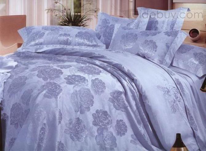 美しい フローラル ウェディング寝具セット (296766)