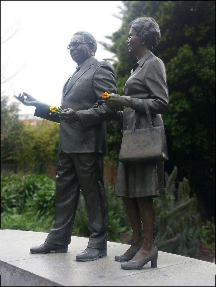 Doug and Gladys Nicholls Parliament Gardens Melbourne