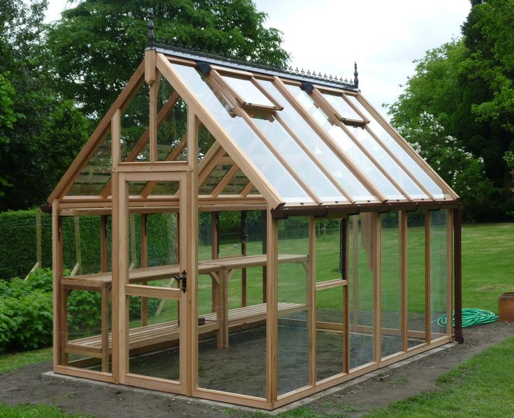 Beau Clean And Simple. Backyard GreenhouseWood Greenhouse PlansGarden ...