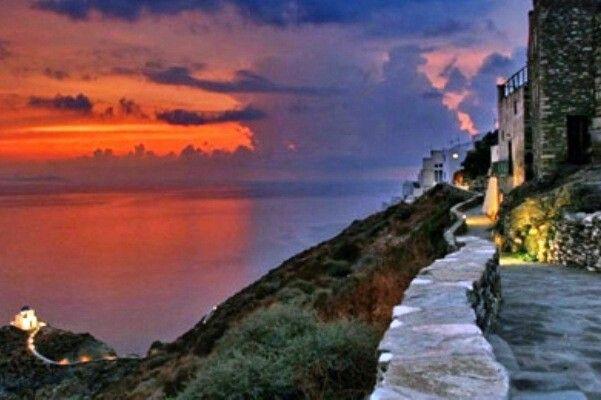 • Κάστρο, Σίφνος, Κυκλάδες, Αιγαίο, Ελλάδα • Kastro (Castle), Sifnos, Cyclades, Aegean sea, Hellas ( Greece )