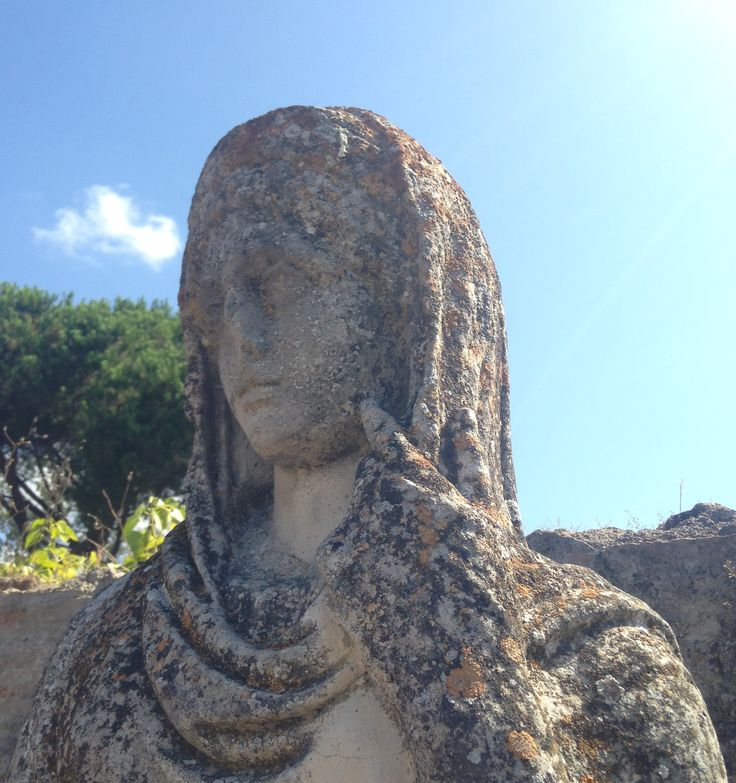Statue at Ostia Antica, day 4.