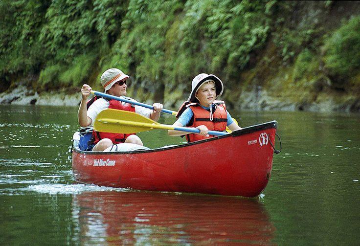 Whanganui National Park Canoe Safaris