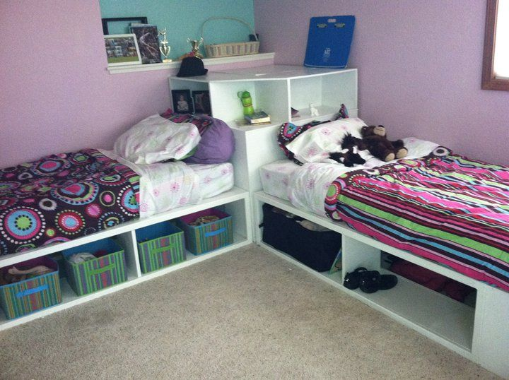 Storage Beds Twin With Corner Unit Do It Yourself Home Projects From Ana