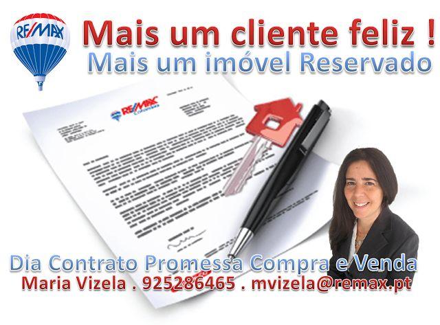 Maria Vizela Remax Lisboa Oeiras Cascais: Dia de Contrato Promessa Compra e Venda - Caparide...
