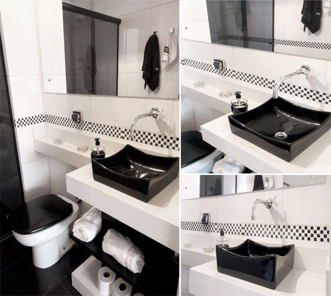 Preto e branco: três ambientes distintos