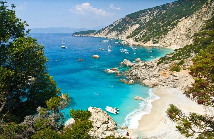 Plati Ammos, Ithaka island #Greece