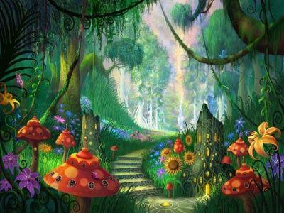 El bosque de las hadas http://www.encuentos.com/cuentos-ecologicos-infantiles/el-bosque-de-las-hadas/