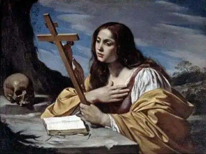 Santa María Magdalena | Mary magdalene, Still life painting, St mary