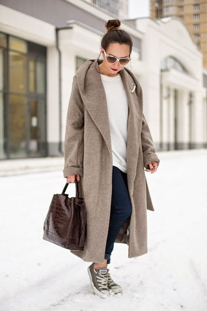 Chic and cozy oversize - Trendler