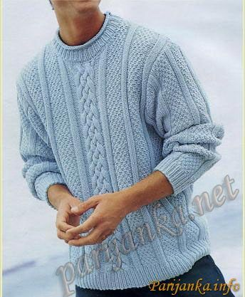 Пуловер (м) 210 Creations 2001-02 BDF №1359