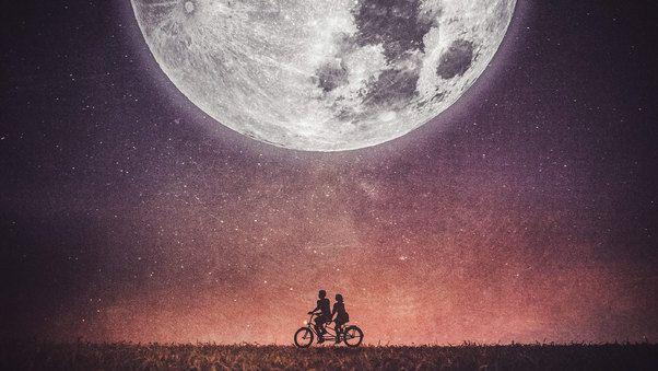 صورحب Couple On Cycle خلفيات رومانسية 2020 Love Wallpaper Best Love Wallpaper Nature Photography