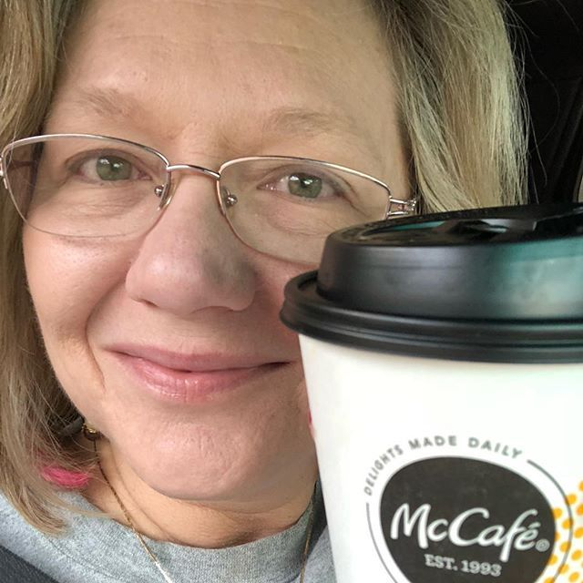 "On the road again - ""I need you to be strong right now"" - Me to McCafe coffee.  #coffee #mcdonalds #travel #nofilter"