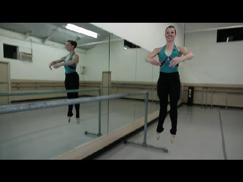 ▶ How to Get Higher Jumps for Lyrical & Ballet Dancing : Ballet Movements - YouTube