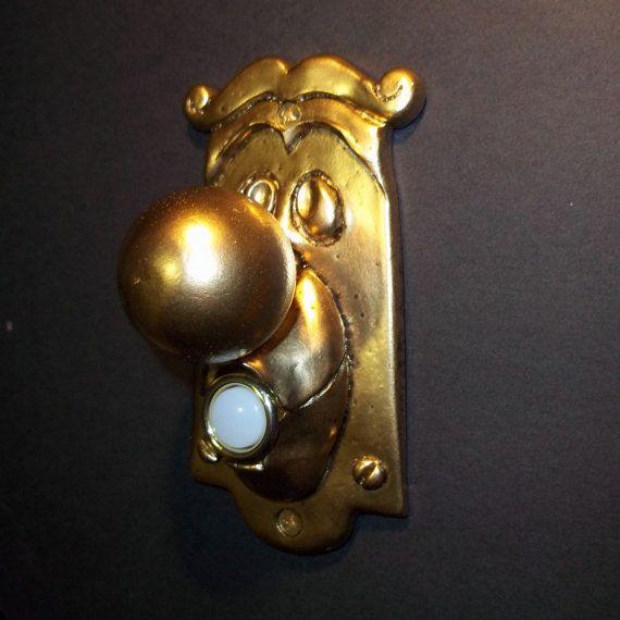 Alice in Wonderland Doorbell Cover Switch 3D by mancaveprop