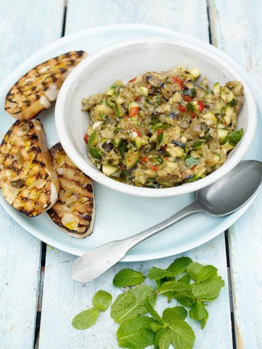 smoky veg bruschetta with chilli | Jamie Oliver | Food | Jamie Oliver (UK)