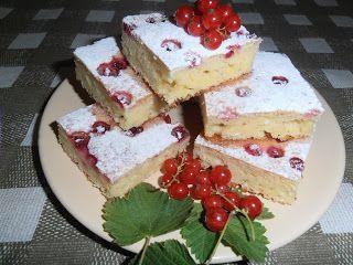 Gerdi süti: Ribizlis-túrós lepény