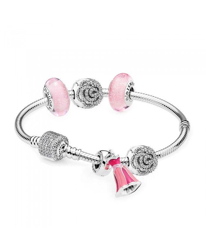 98e2bde3d Pandora Clearance Sale Disney Princess Aurora Bracelet | PANDORA ...