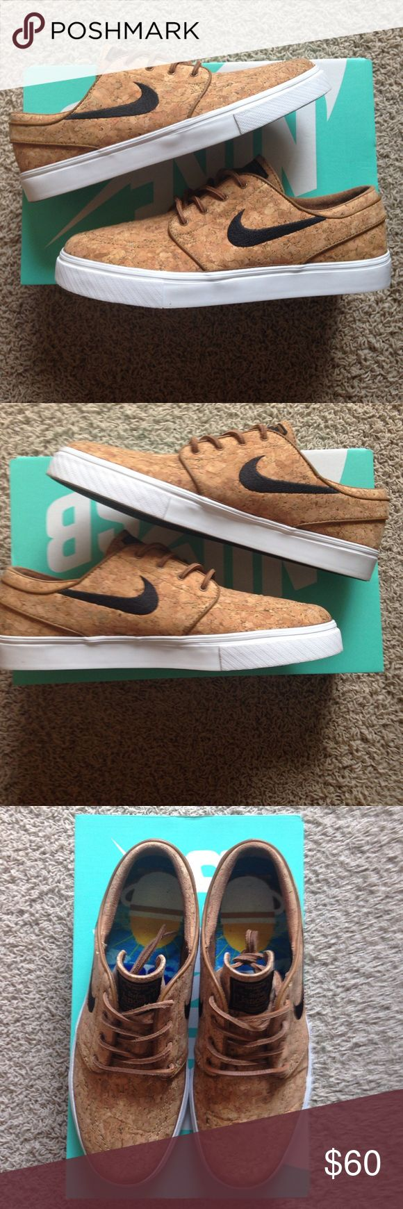 "Nike Zoom Stefan Janoski Elite ""Cork"" Only worn a few times. Little signs of wear. A shoe not many have seen and are sure to get compliments. Nike Shoes Sneakers"