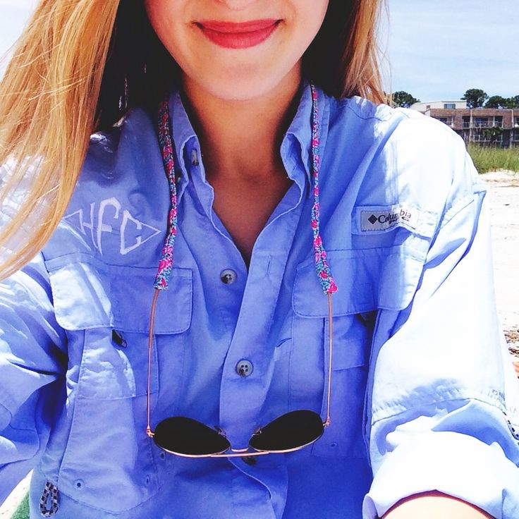 I have a mint colored PFG shirt now I just need to get it monogrammed...I am thinking with hot pink monogram