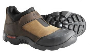 LawnGrips Classic Womens Size 9.5 by LawnGrips. $89.06. Classic LawnGrips Landscaping Shoe You will never want to do your yard work in anything else. Our terrific shoes will keep your feet dry and happy and your lawn will thank you too! LawnGrips footwear makes mowing and caring for your lawn easier and more comfortable. The patented Grip-N-Go outsole provides great traction on freshly cut grass and sheds mud and clippings like a champ. For safety, the Men's and Women...