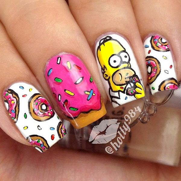 Instagram-Inspired 10 Smashing Nail Art Designs for Long Nails #nails #nailart …