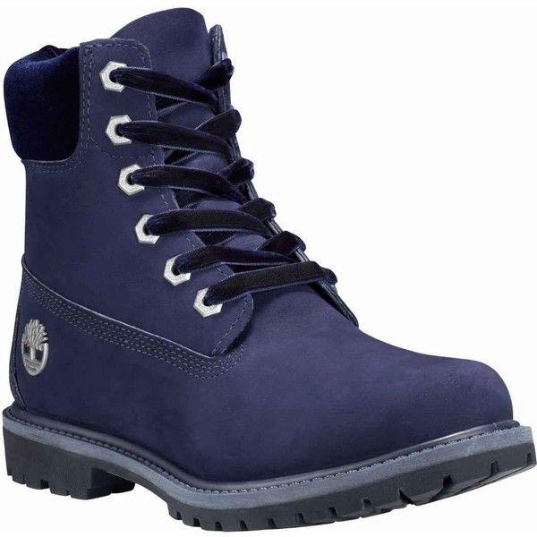 black velvet timberland boots