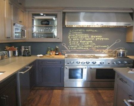 One-of-a-kind idea: http://realtytimes.com/consumeradvice/homeownersadvice1/item/30740-20140923-the-wonderful-world-of-chalkboard-paint
