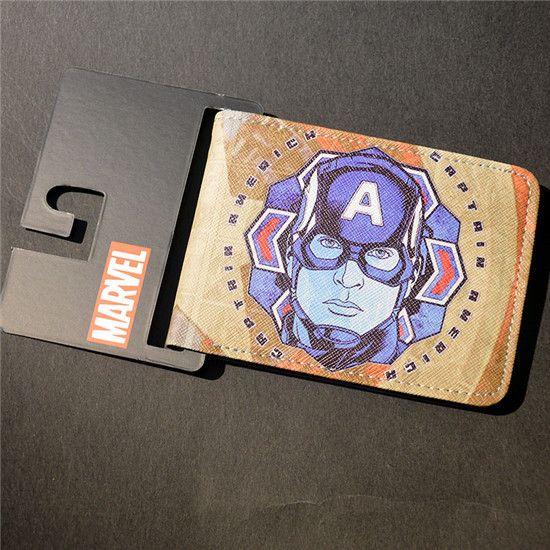 Marvel The Avengers Hulk/Iron Man Thor/Captain/America/Superman Wallet