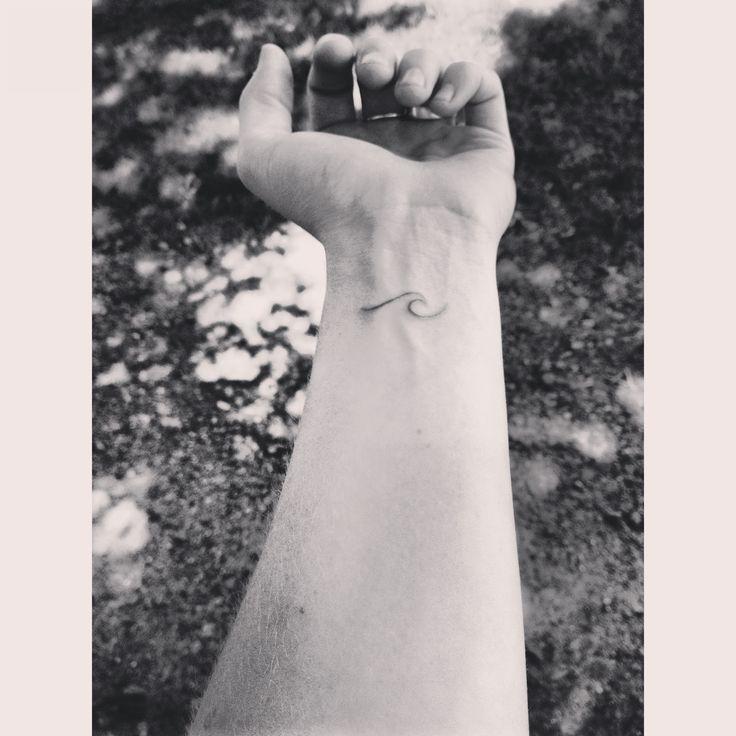 Small Wave Tattoo