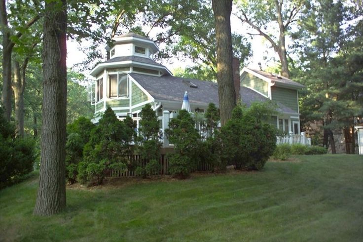 Michiana, MI, 5 miles from New Buffalo. Pricier, but gorgeous house!! #vacation #rental #travel #vrbo