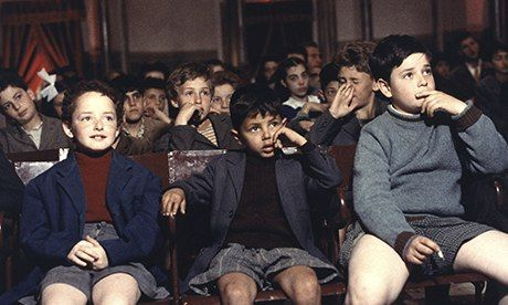 Magic of the movies ... Cascio and friends in Cinema Paradiso. Photograph: Arrow Films