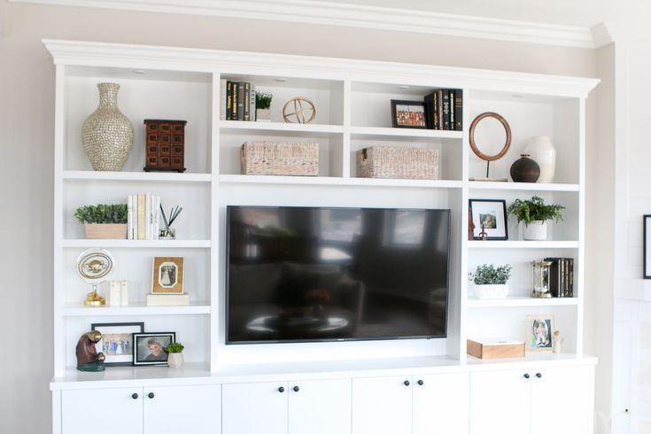 White + Blush Family Room in a City Condo