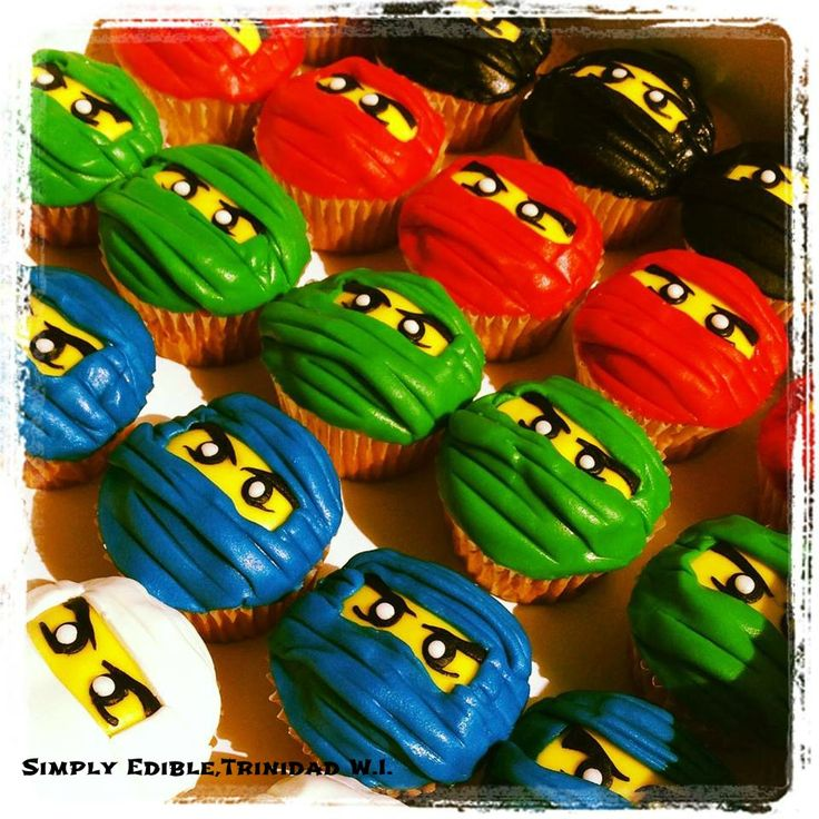 Follow Kid Chef Delainey at Delaineys Diner on Facebook & Youtube -#Ninjago #Lego #Cupcakes