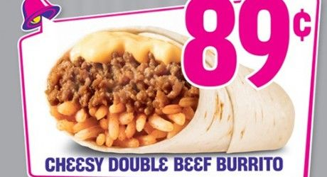 Cheesy Double Beef Burrito, I miss you every day.