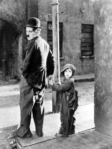 The Kid, Charles Chaplin, Jackie Coogan, 1921 Premium Poster