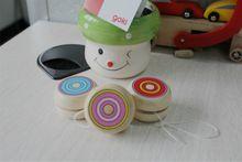 Yoyo YOYO de madera para niños juguetes clásicos regalos de navidad fiesta favores del carnaval de la escuela jardín de infantes bolsa de botín de relleno mejor regalo GYH S26(China (Mainland))