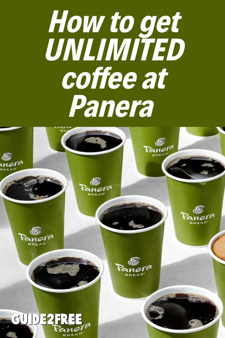 FREE Unlimited Coffee at Panera ALL Summer Long in 2020