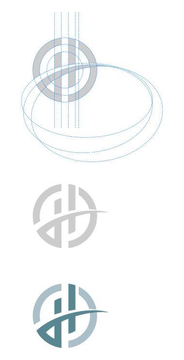 Horizon outpatient services logo design