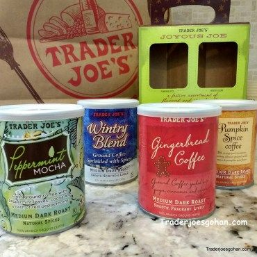 Trader Joe's Joyous Joe Coffee Sampler $7.99 | #TraderJoes #Joyous #Joe #Coffee  #Sampler #holiday