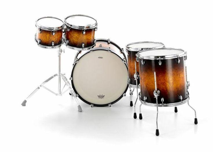 Mapex Black Panther Velvetone Set #mapex #drums #thomann