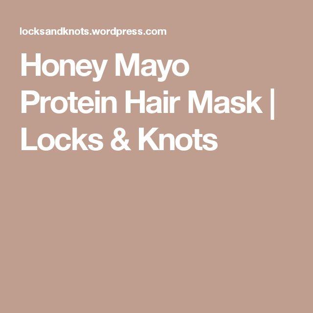Honey Mayo ProteinHair Mask | Locks & Knots