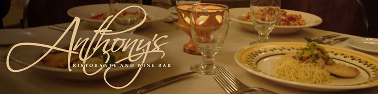 Anthony's Ristorante and Wine Bar, Cleveland Ohio - BEST RESTAURANT IN LITTLE ITALY