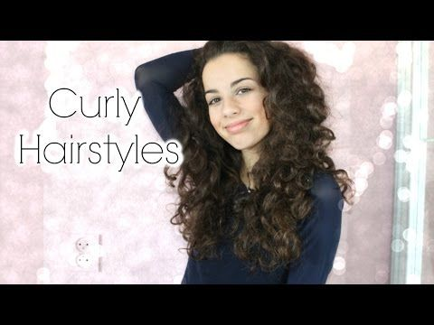 Best 25+ Easy curly hairstyles ideas on Pinterest | Hairstyles ...